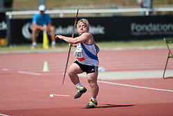 MARGOC Marek, SVK, Javelin, F41, 2013 IPC Athletics World Championships, Lyon, France