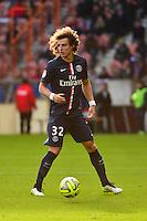 David LUIZ - 18.01.2015 - Paris Saint Germain / Evian Thonon - 21eme journee de Ligue 1<br />Photo : Dave Winter / Icon Sport