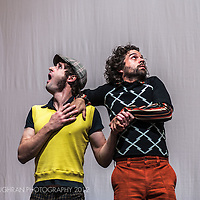 A scene from the show AAART!, the 18th Circ d´Hivern production at l'Ateneu, Barcelona.