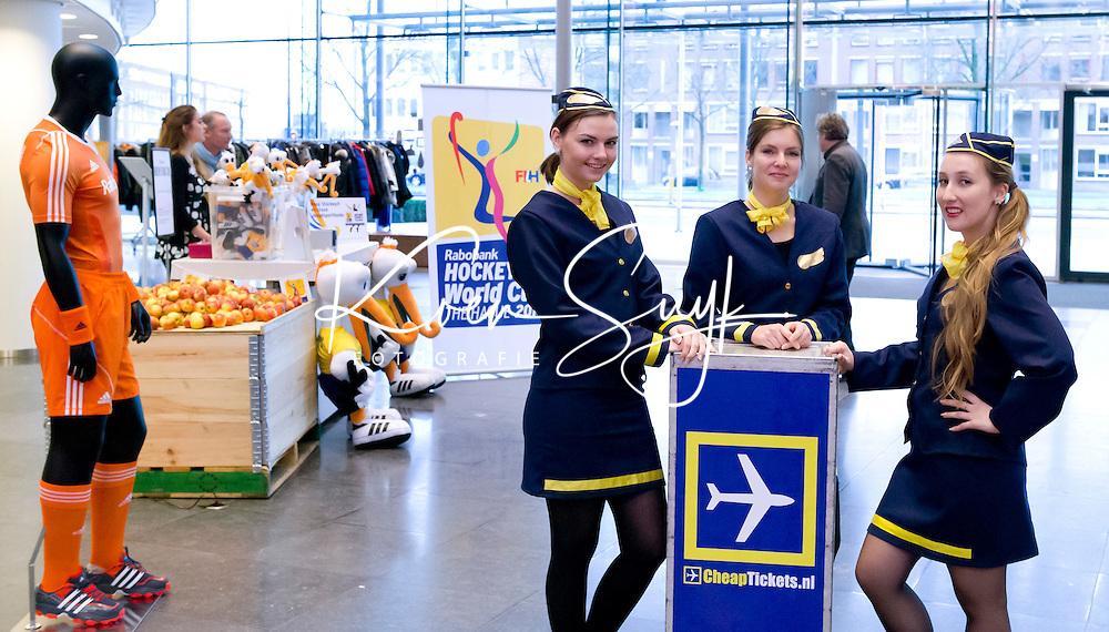 UTRECHT - Cheap Tickets. Hockeycongres bij de Rabobank in Utrecht. FOTO KOEN SUYK