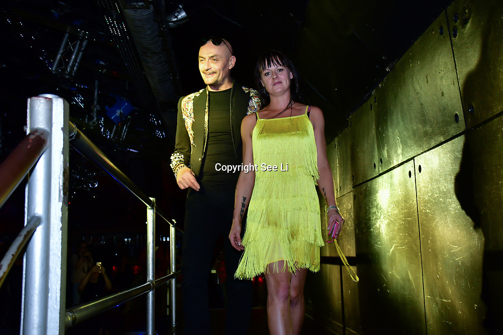 "Designer Aleah Leigh and Sean Cronin showcases at The Third Annual Integrity Awards by Dragon Lady Productions and The Peace Project 21st ""The Alternative Fashion Integrity Awards 2019 & Film Networking Soirée"" on 21 September 2019, Fire Club Vauxhall, London, UK."
