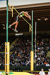 Ashton Eaton, Decathlon, pole vault, on his way to setting world record at USA Olympic Trials