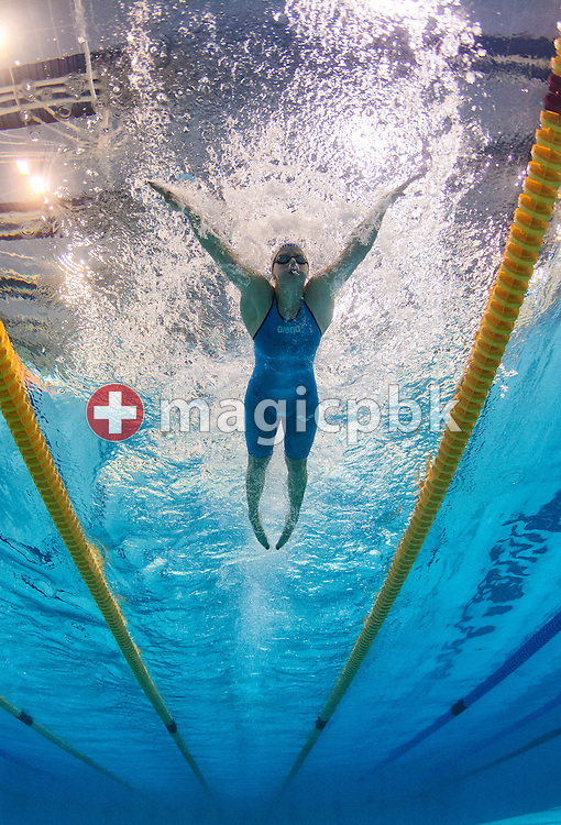 Martina MORAVCIKOVA of the Czech Republic competes in the women's 50m Breaststroke Swim-Off during the 31st LEN European Swimming Championships in Debrecen, Hungary, Saturday, May 26, 2012. (Photo by Patrick B. Kraemer / MAGICPBK)