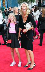 Ulrika Jonsson and daughter arriving for the world premiere of One Direction: This Is Us,Tuesday, 20th August 2013. Picture by Stephen Lock / i-Images