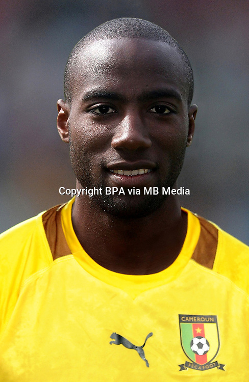 Football Fifa Brazil 2014 World Cup / <br /> Cameroon National Team - <br /> Guy Rolland N'DY ASSEMBE of Cameroon