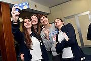 Elena Vella, Martina Fassina, Raffaella Masciadri, Costanza Verona<br /> Stelle d'Argento a Lucca. Premiazione Under 17 e Under 20 Femminili<br /> FIP 2016<br /> Lucca, 18/11/2016<br /> Foto Ciamillo - Castoria