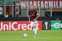 Milano - 28.09.2017 - Milan-Rijeka - Europa League   - nella foto:  Leonardo Bonucci