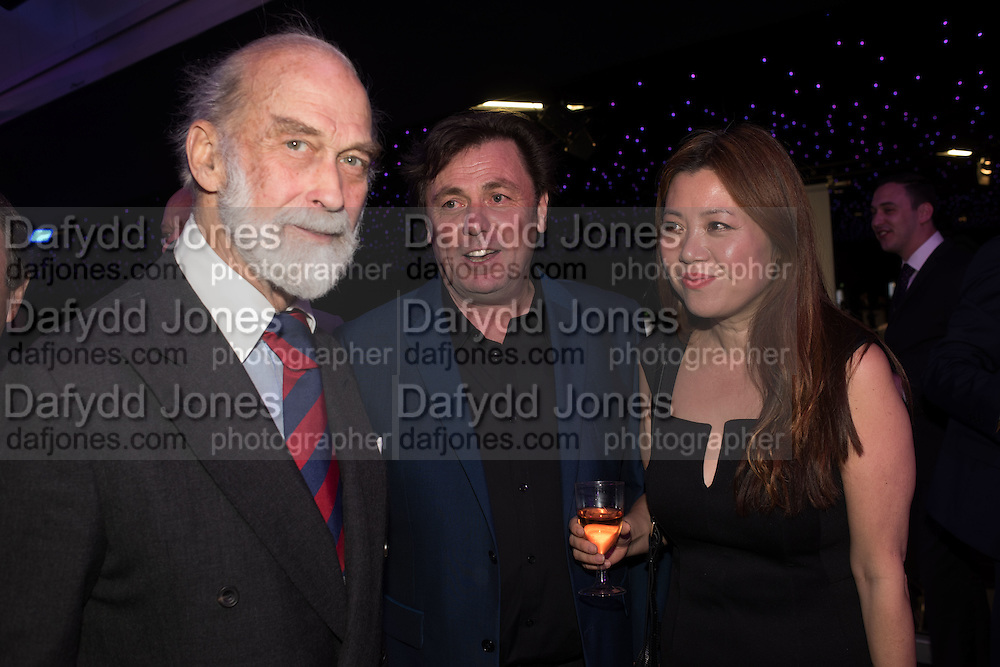 PRINCE MICHAEL OF KENT; MIKE RUTHERFORD Preview for The London Motor Show, Battersea Evolution. London. 5 May 2016
