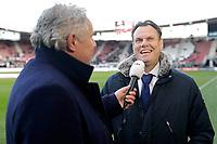 (L-R) *Joep Schreuder*, *Robert Eenhoorn* of AZ Alkmaar