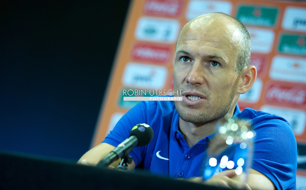 02-09-2015 VOETBAL: TRAINING NEDERLANDS TEAM: KATWIJK<br /> Arjen Robben (Bayern Munchen)