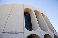 Abraham Chavez Theater in downtown, El Paso, Texas.