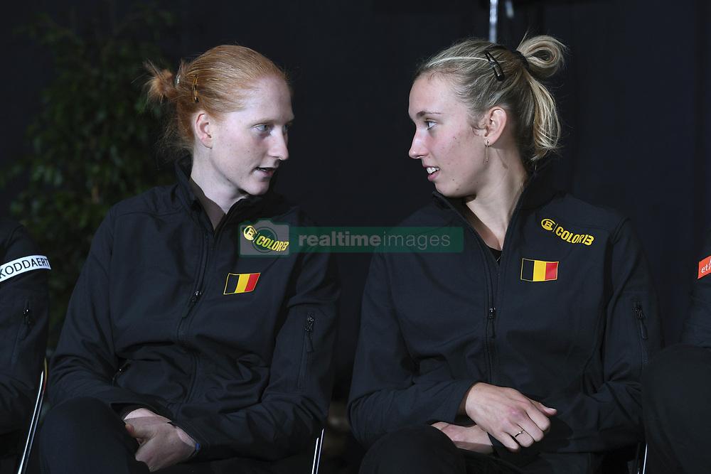 February 8, 2019 - Liege, France - Alison VAN UYTVANCK, Elise MERTENS (Credit Image: © Panoramic via ZUMA Press)