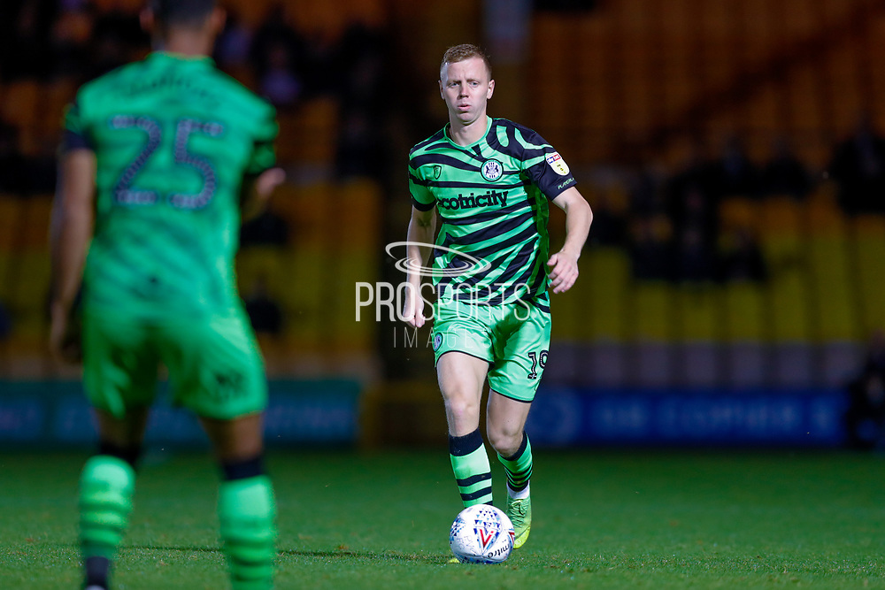 Forest Green Rovers Nathan McGinley(19) in action  during the EFL Sky Bet League 2 match between Port Vale and Forest Green Rovers at Vale Park, Burslem, England on 20 August 2019.