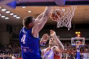 Jared Berggren<br /> Grissin Bon Pallacanestro Reggio Emilia - Germani Basket Leonessa Brescia<br /> Lega Basket Serie A 2016/2017<br /> Reggio Emilia, 27/03/2017<br /> Foto M.Ceretti / Ciamillo - Castoria
