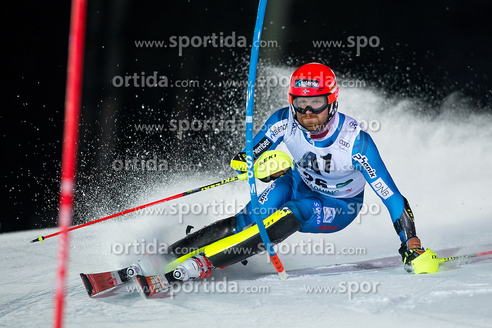 Leif Kristian Haugen (NOR) during the 7th Mens' Slalom of Audi FIS Ski World Cup 2016/17, on January 24, 2017 at the Planai in Schladming, Austria. Photo by Martin Metelko / Sportida