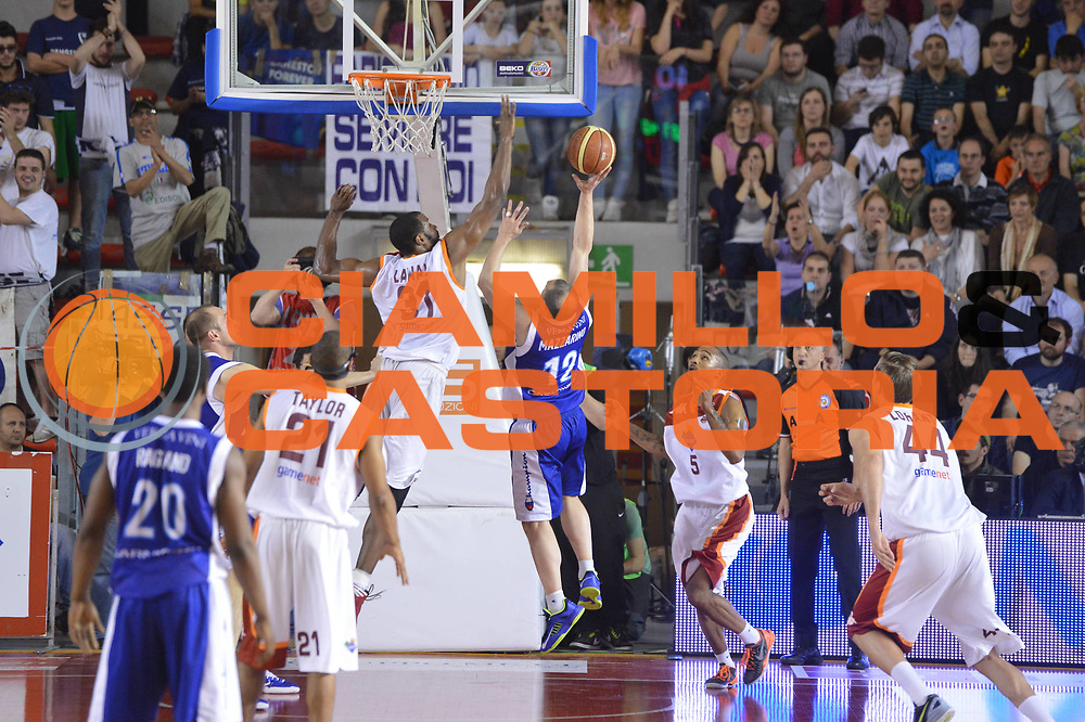 DESCRIZIONE : Roma Lega A 2012-2013 Acea Roma Lenovo Cant&ugrave; playoff semifinale gara 2<br /> GIOCATORE : Gani Lawal<br /> CATEGORIA : stoppata<br /> SQUADRA : Acea Roma<br /> EVENTO : Campionato Lega A 2012-2013 playoff semifinale gara 2<br /> GARA : Acea Roma Lenovo Cant&ugrave;<br /> DATA : 27/05/2013<br /> SPORT : Pallacanestro <br /> AUTORE : Agenzia Ciamillo-Castoria/GiulioCiamillo<br /> Galleria : Lega Basket A 2012-2013  <br /> Fotonotizia : Roma Lega A 2012-2013 Acea Roma Lenovo Cant&ugrave; playoff semifinale gara 2<br /> Predefinita :