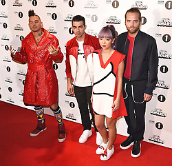The BBC Radio 1's Teen Awards held at Wembley SSE Arena, Wembley on Sunday 23 October 2016