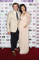 Nathan Massey, Cara De La Hoyde, National Reality TV Awards, Porchester Hall, London UK, 29 September 2016, Photo by Richard Goldschmidt