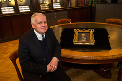 Pictured: Chris Baker Director of the Scottish National Portrait Gallery<br /> <br /> The Portrait of Bonnie Prince Charlie, newly acquired by the National Galleries of Scotland under the Acceptance in Lieu of tax scheme and valued at £1.1 million, is thought to have been created by artist Allan Ramsay in Edinburgh in 1745, at the height of the Jacobite rising. The portraits is the only one of the Prince Charles to have been painted in Britain.<br /> <br /> Ger Harley | EEm 30 March 2016