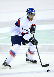 Radovan Somik at ice-hockey match Germany (played in old replika jerseys from year 1946) vs Slovakia at Preliminary Round (group C) of IIHF WC 2008 in Halifax, on May 05, 2008 in Metro Center, Halifax, Nova Scotia, Canada. Germany won 4:2. (Photo by Vid Ponikvar / Sportal Images)