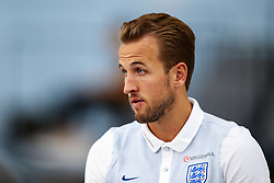 England's Harry Kane speaks to the media - Mandatory by-line: Matt McNulty/JMP - 29/08/2017 - FOOTBALL - St George's Park National Football Centre - Burton-upon-Trent, England - England Training and Press Conference