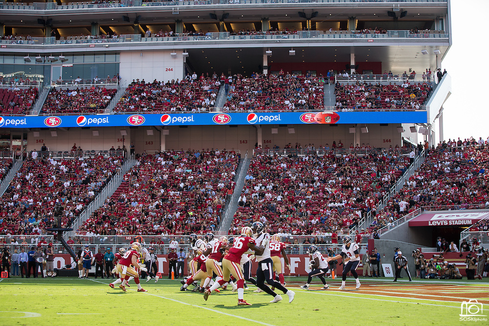 San Francisco 49ers take on the Houston Texans during a preseason game at Levi's Stadium in Santa Clara, Calif., on August 14, 2016. (Stan Olszewski/Special to S.F. Examiner)