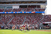 San Francisco 49ers take on the Houston Texans during a preseason game at Levi's Stadium in Santa Clara, Calif., on August 14, 2016. (Stan Olszewski/Special to S.F. Examiner)