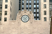 Chicago Board of Trade Building Facade, Chicago, Illinois