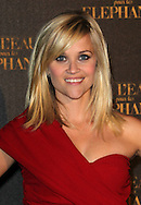"""PARIS, FRANCE - APRIL 28:  Reese Witherspoon attends """"Water for Elephants' Premiere at Le Grand Rex Theater on April 28, 2011 in Paris, France.  (Photo by Tony Barson/FilmMagic)"""