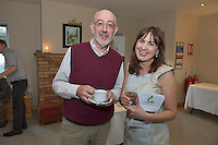 James McHugh Irish Pilgrimage trust and Trish Murphy SCCUL  at the Launch of the SCCUL Sanctuary at Kilcuan, Clarinbridge .<br /> Photo:Andrew Downes