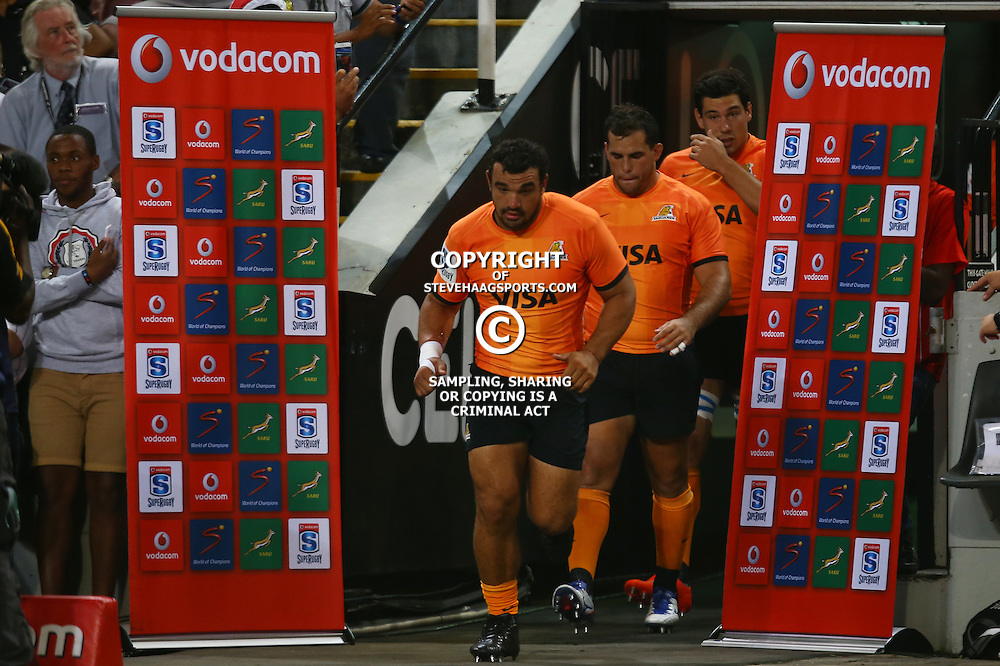 DURBAN, SOUTH AFRICA - MARCH 05: Agustín Creevy (captain) of the Jaguares during the 2016 Super Rugby match between Cell C Sharks and Jaguares at Growthpoint Kings Park Stadium on March 05, 2016 in Durban, South Africa. (Photo by Steve Haag/Gallo Images)