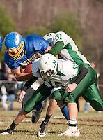 Gilford versus Newfound football Gilford High School November 6, 2010