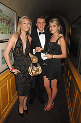 Left to right, OLIVIA BUCKINGHAM, CHARLIE GREEN and VIOLET VON WESTENHOLZ at a dinner hosted by fashion label Issa at Annabel's, Berekely Square, London on 24th April 2007.<br />