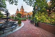 Smithsonian Institute gardens