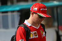 Formula 1 - Gran Premio di Abu Dhabi - Nella foto: Kimi Raikkonen  - Ferrari  SF70H  - Formula 1