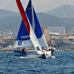 Radich and Bruni in the quarter finals. Photo: Chris Davies/WMRT