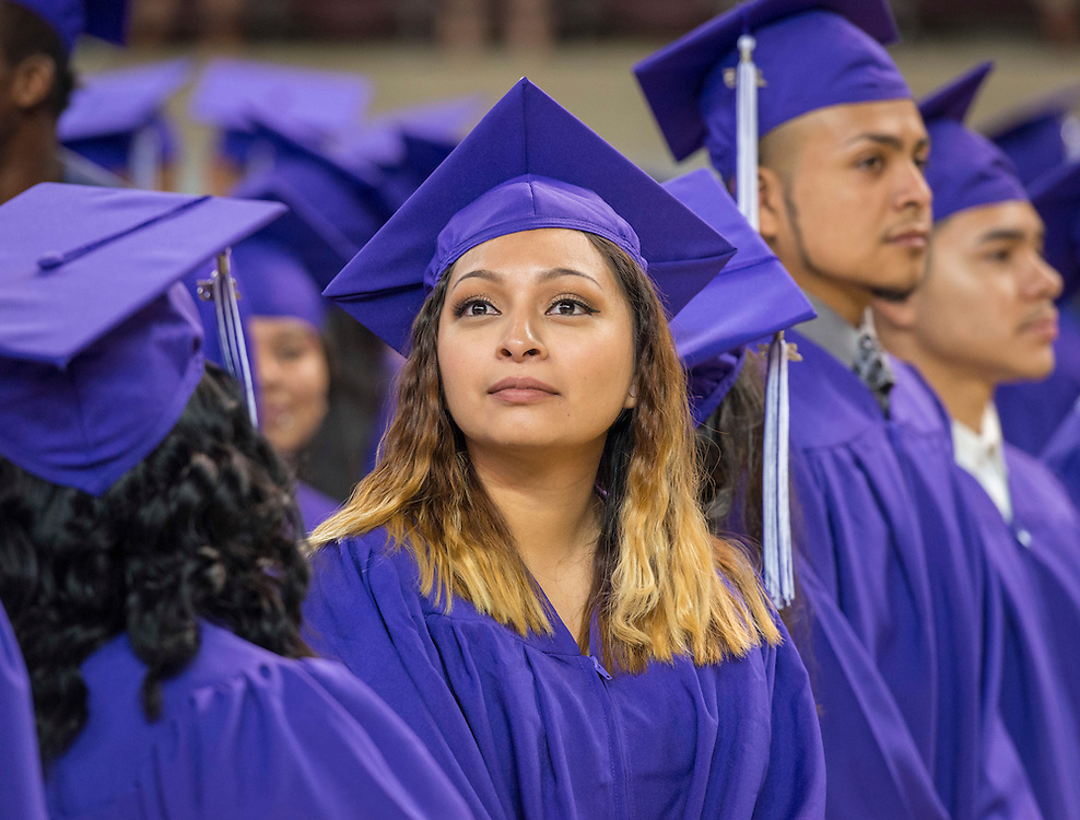 Davis High School graduation ceremony, May 31, 2015.
