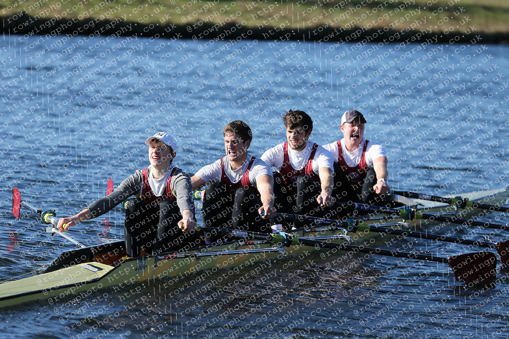 Loughborough Students' Rowing Club. Championship Quads, BUCS Head 2012.