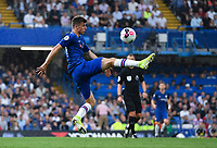 Football - 2019 / 2020 Premier League - Chelsea vs. Sheffield United<br /> <br /> Chelsea's Mason Mount in action, at Stamford Bridge.<br /> <br /> COLORSPORT/ASHLEY WESTERN