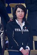 2013/06/02 Roma, II Giugno, parata militare per la Festa della Repubblica, le autorita' . Nella foto Roberta Angelilli.<br /> Rome, military parade for Republic Day. The authorities. In the picture Roberta Angelilli - &copy; PIERPAOLO SCAVUZZO