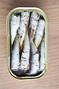 Canned Sardines.