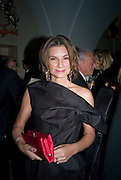 Natalie Massenet, Chaos Point: Vivienne Westwood Gold Label Collection performance art catwalk show and auction in aid of the NSPCC. Banqueting House. London. 18 November 2008<br />