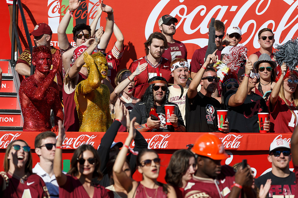 General images prior to the Chick-fil-A Kickoff NCAA football game between the Florida State Seminoles and the Alabama Crimson Tide on Saturday, September 2, 2017, in Atlanta. (Paul Abell via Abell Images for Chick-fil-A Kickoff Game)