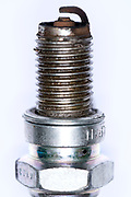 close up of a spark plug