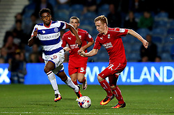 James Brophy of Swindon Town runs with the ball - Mandatory by-line: Robbie Stephenson/JMP - 10/08/2016 - FOOTBALL - Loftus Road - London, England - Queens Park Rangers v Swindon Town - EFL League Cup