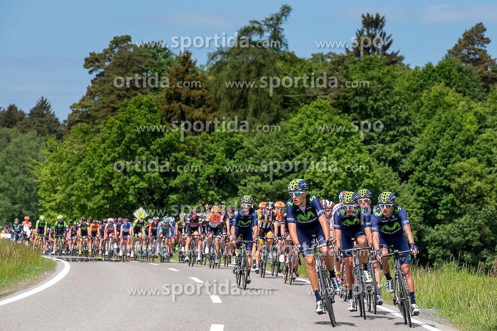 Radsport: 36. Bayern Rundfahrt 2015 / 5. Etappe, Hassfurt - Nuernberg, 17.05.2015<br /> Cycling: 36th Tour of Bavaria 2015 / Stage 5, <br /> Hassfurt - Nuernberg, 17.05.2015<br /> # 33 Gadret, John (FRA, MOVISTAR TEAM)
