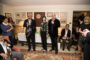 MARGUERITE LITTMAN; ADAM LOW; AATISH TASEER, Aatish Taseer  book launch party for his new book Stranger To History. Travel book asks what it means to be a Muslim in the 21st century. Hosted by Gillon Aitken. Kensington, London. 30 March 2009