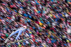 04.01.2015, Bergisel Schanze, Innsbruck, AUT, FIS Ski Sprung Weltcup, 63. Vierschanzentournee, Innsbruck, Probesprung, im Bild Dawid Kubacki (POL) // Dawid Kubacki of Poland during the Trial Jump for the 63rd Four Hills Tournament of FIS Ski Jumping World Cup at the Bergisel Schanze in Innsbruck, Austria on 2015/01/04. EXPA Pictures © 2015, PhotoCredit: EXPA/ JFK