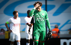 August 27, 2017 - Brugge, BELGIUM - Standard's goalkeeper Guillermo Ochoa looks dejected after the Jupiler Pro League match between Club Brugge and Standard de Liege, in Brugge, Sunday 27 August 2017, on the fifth day of the Jupiler Pro League, the Belgian soccer championship season 2017-2018. BELGA PHOTO VIRGINIE LEFOUR (Credit Image: © Virginie Lefour/Belga via ZUMA Press)