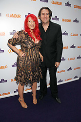 JONATHAN ROSS and JANE GOLDMAN at the 2008 Glamour Women of the Year Awards 2008 held in the Berkeley Square Gardens, London on 3rd June 2008.<br />